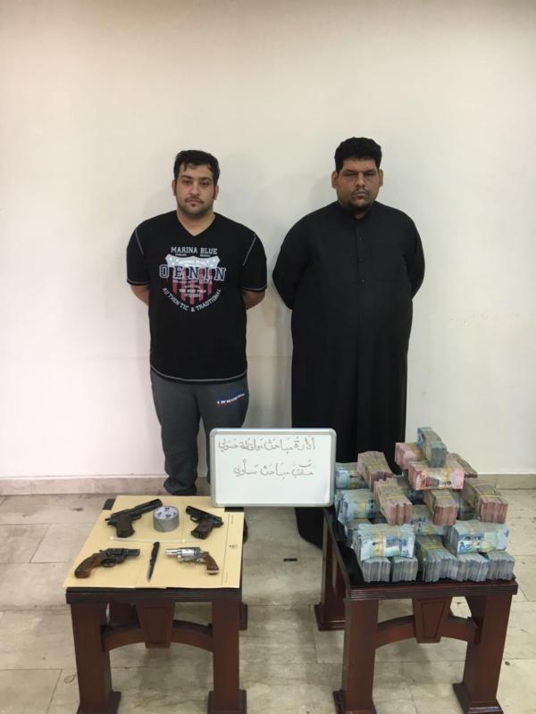 المتهمان بقتل احد افراد الاسرة الحاكمة في الكويت