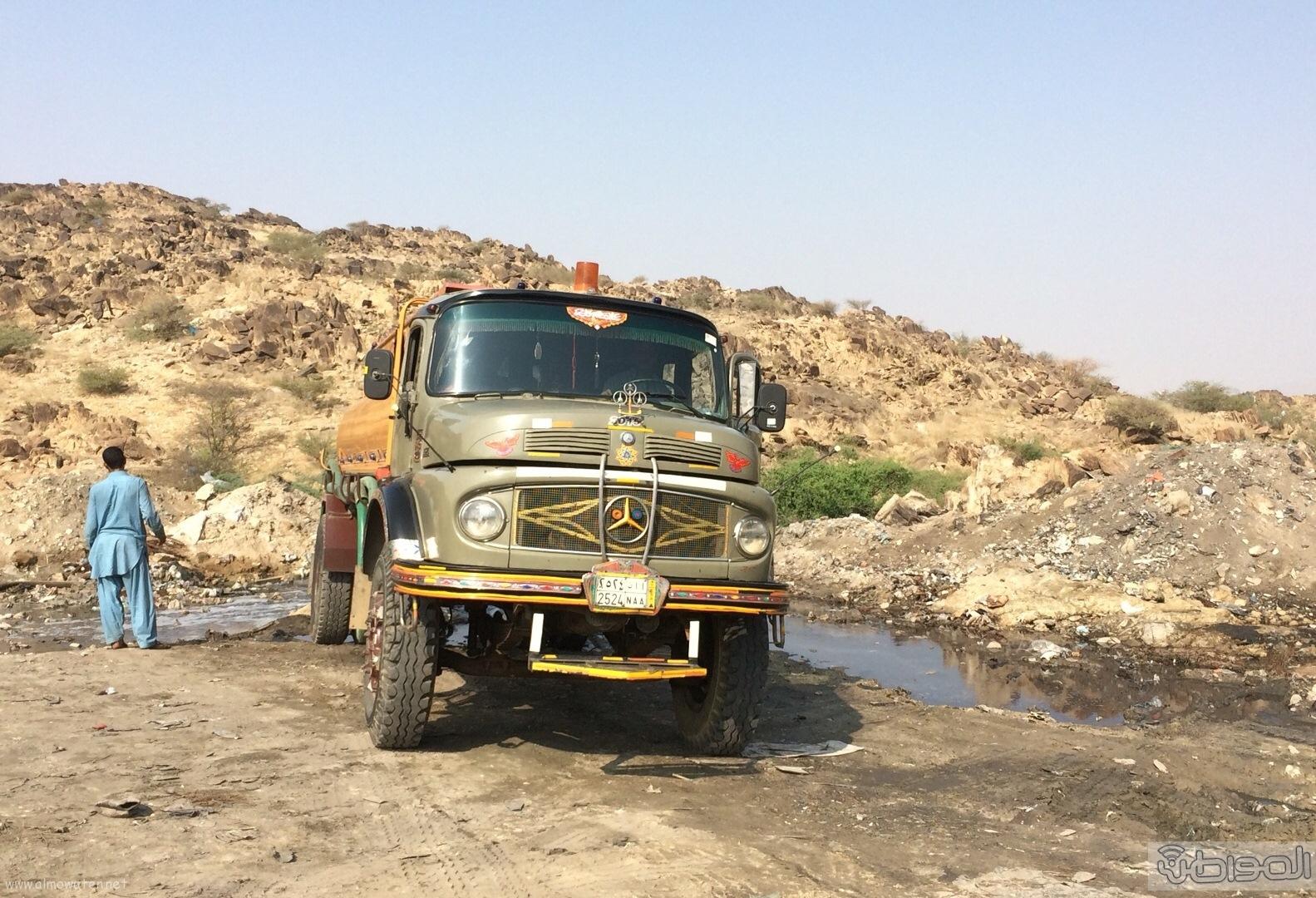 المجاردة حرق النفايات بجوار المساكن (6)