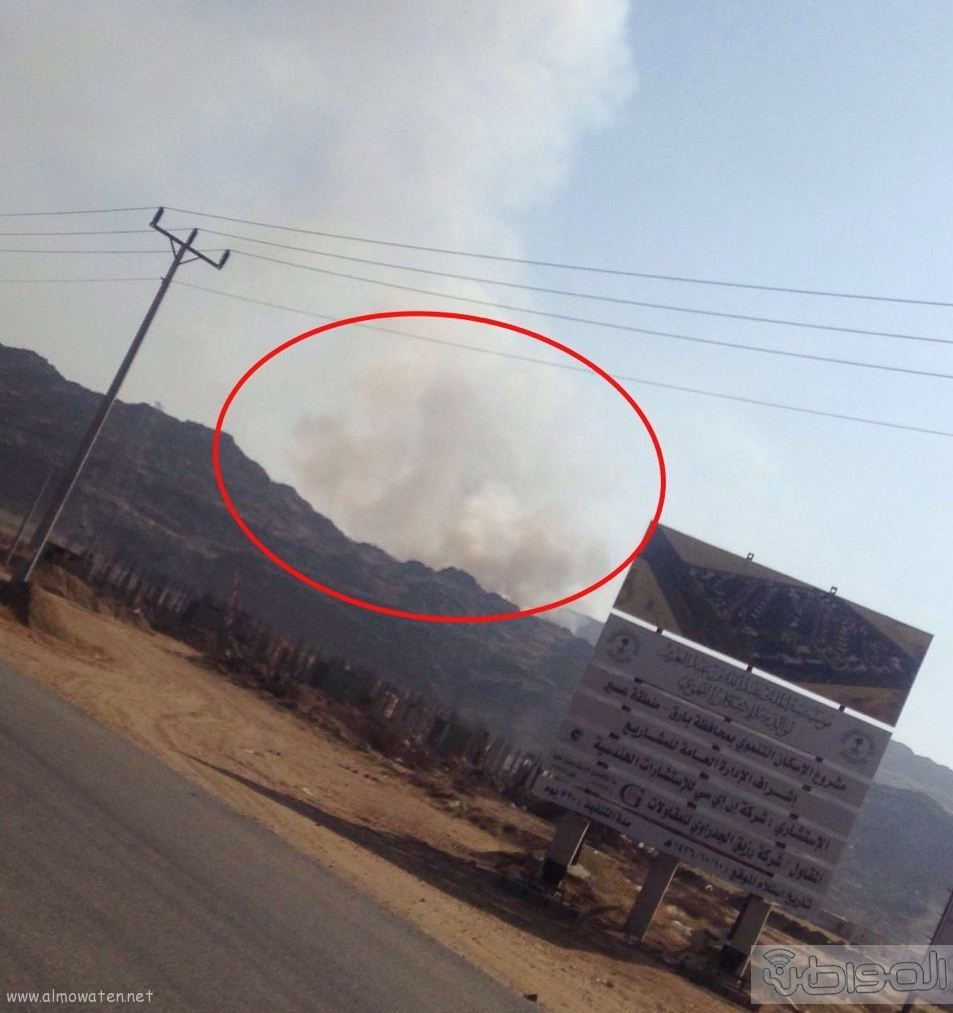 المجاردة حرق النفايات بجوار المساكن (8)