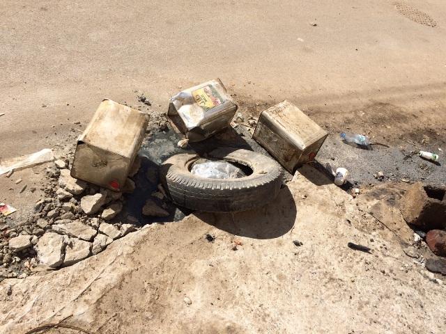 المجاري والأكل المكشوف يغلقان مطعمًا في أبا السعود #نجران (4)