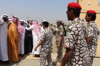 """بالصور.. مدير عام المجاهدين ينقل تعازي القيادة لذوي الشهيد """"القيسي"""" - المواطن"""