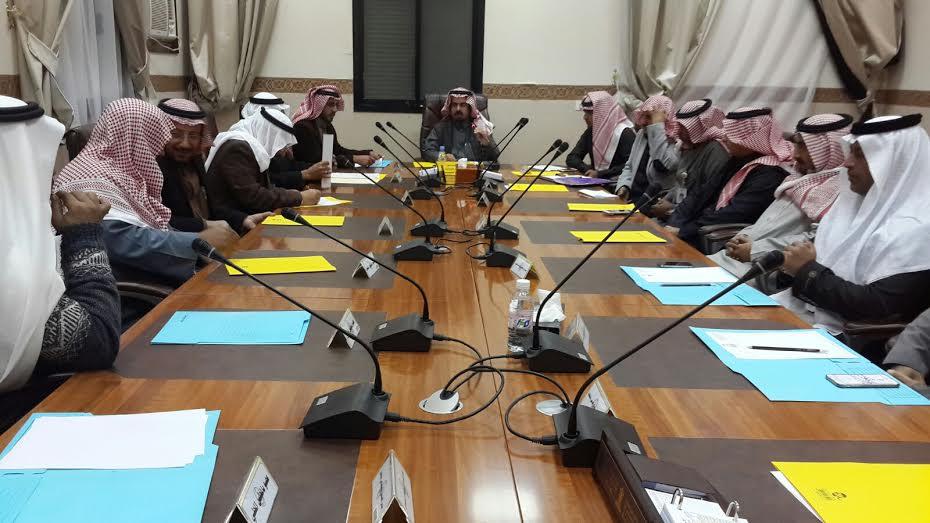المجلس المحلي بمحافظة بني حسن بمنطقة الباحة يعقد جلسته (2)