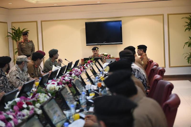 المحرج يترأس اجتماع اللجنة الأمنية الثالث في منى (1) 