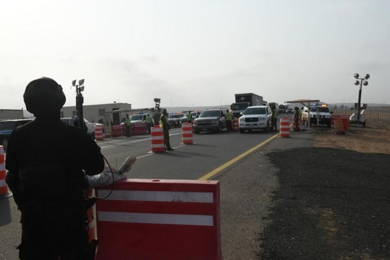 المحرج يزور مراكز الضبط الأمني وقيادة أمن الطرق 1