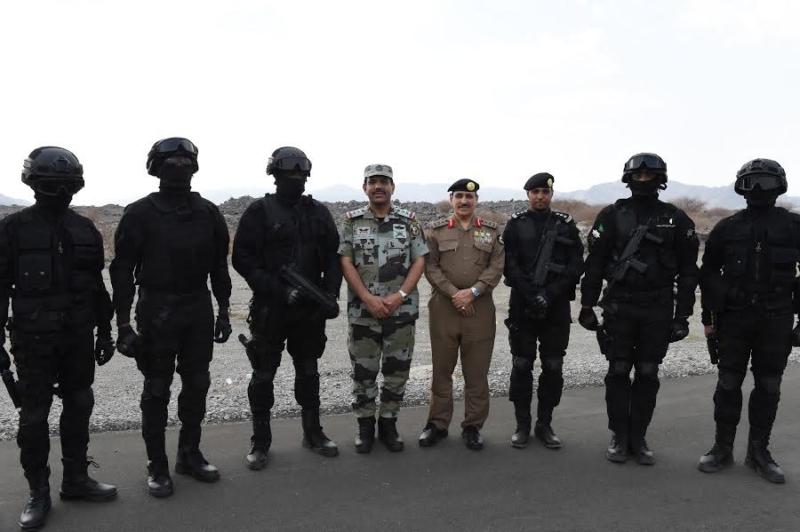 المحرج يزور مراكز الضبط الأمني وقيادة أمن الطرق 11