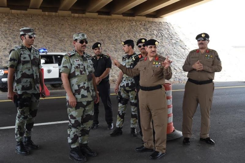 المحرج يزور مراكز الضبط الأمني وقيادة أمن الطرق 2