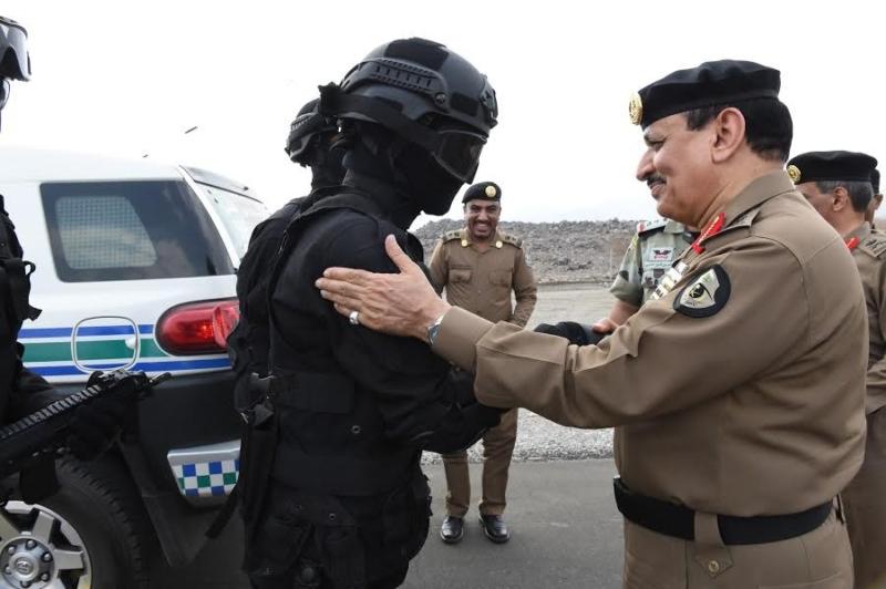 المحرج يزور مراكز الضبط الأمني وقيادة أمن الطرق 6