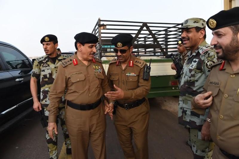 المحرج يزور مراكز الضبط الأمني وقيادة أمن الطرق 8