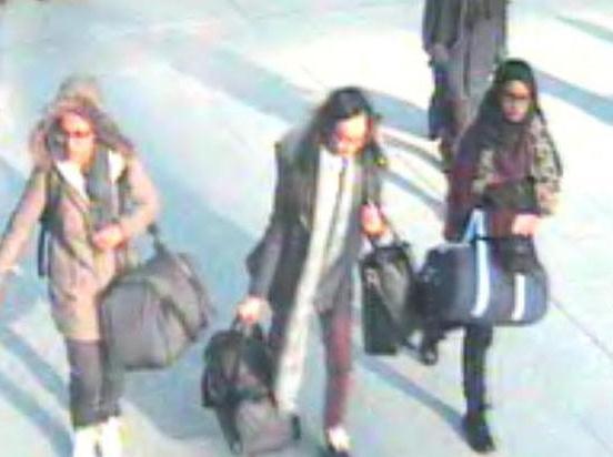 المراهقات البريطانيات اللواتي هربن لسوريا