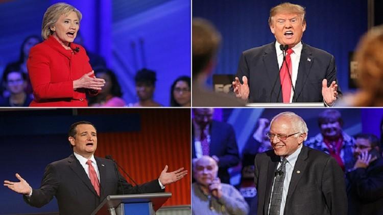 المرشحين للانتخابات الأمريكية