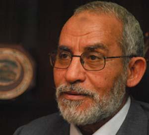 المرشد العام لجماعة الإخوان المسلمين الدكتور محمد بديع