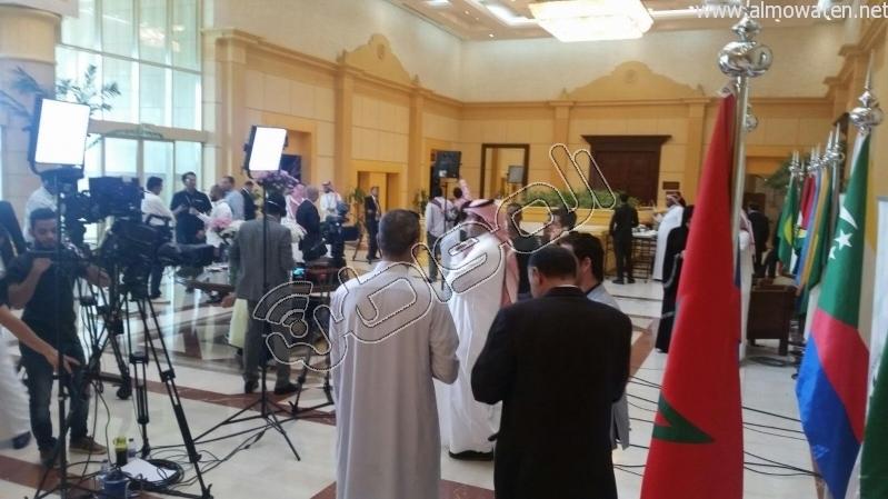 المركز الإعلامي للقمة العربية لقاءات والتقاطات3