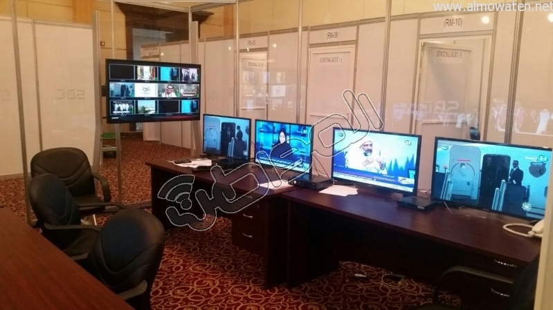 المركز الإعلامي للقمة العربية لقاءات والتقاطات5