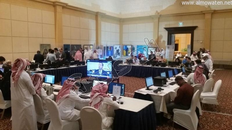 المركز الإعلامي للقمة العربية لقاءات والتقاطات7