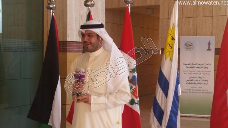 المركز الإعلامي للقمة العربية لقاءات والتقاطات8