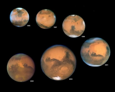 المريخ وزحل في أقرب نقطة من الأرض حاليا