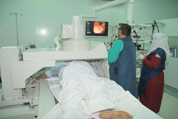 المريض أثناء العملية