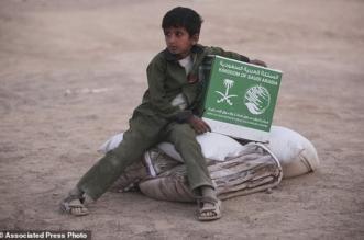 بالصور.. أسوشيتد برس توثق مساعدات المملكة للمنكوبين في اليمن - المواطن