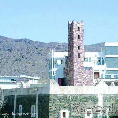 المسجد  الاثري الواقع في ربيعة ورفيدة بمنطقة عسير2