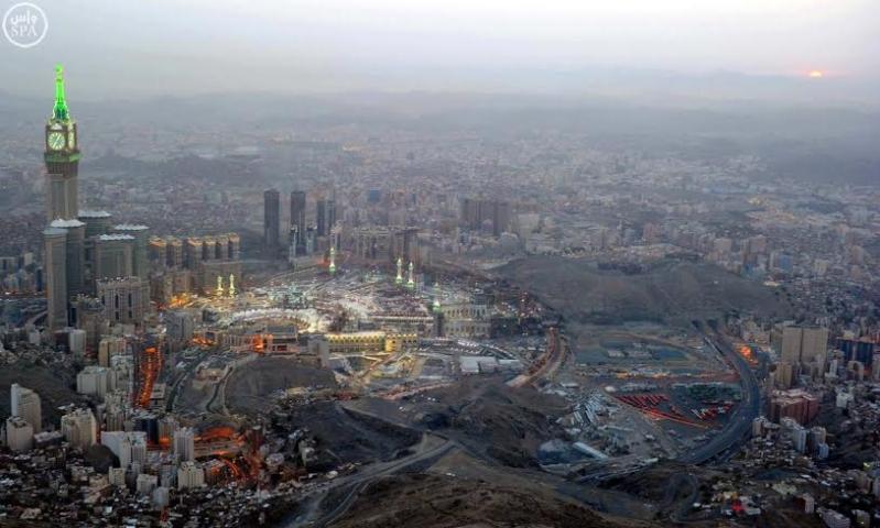 المسجد الحرام غروب 1