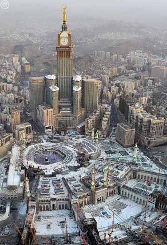 المسجد الحرام غروب 2