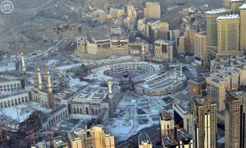 المسجد الحرام غروب 4