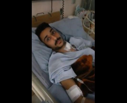 """بالفيديو.. """"القحطاني"""" الناجي من هجوم """"راجحي جازان"""": تلقيتُ 5 رصاصات وتظاهرت بالموت!"""