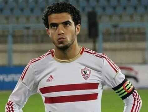 المصري عمر جابر لاعب نادي الزمالك