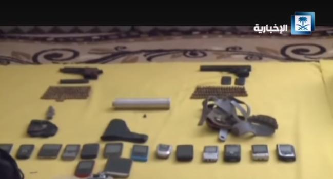 المضبوطات في منزل قاتل العميد أحمد عسيري