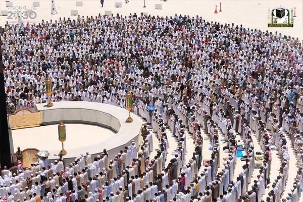 المعيقلي في أوّل خطبة بالمسجد الحرام (3)