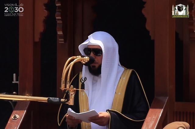 المعيقلي في أوّل خطبة بالمسجد الحرام (5)