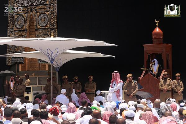 المعيقلي في أوّل خطبة بالمسجد الحرام (6)
