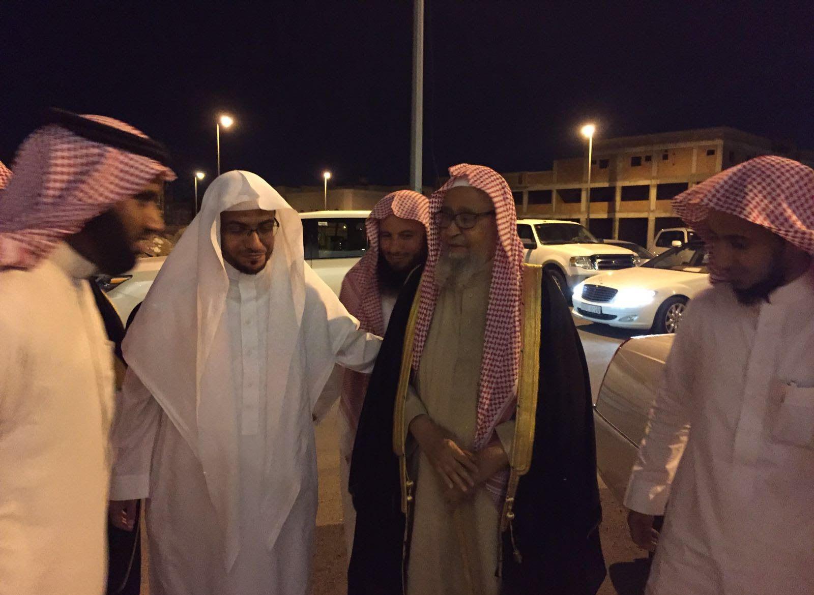 المغامسي يستقبل الشيخ صالح الفوزان (1)