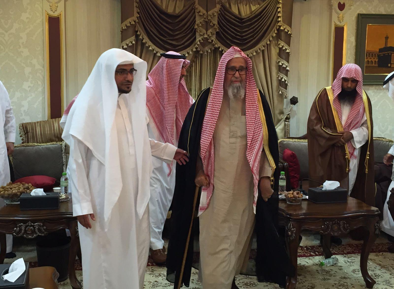 المغامسي يستقبل الشيخ صالح الفوزان (3)