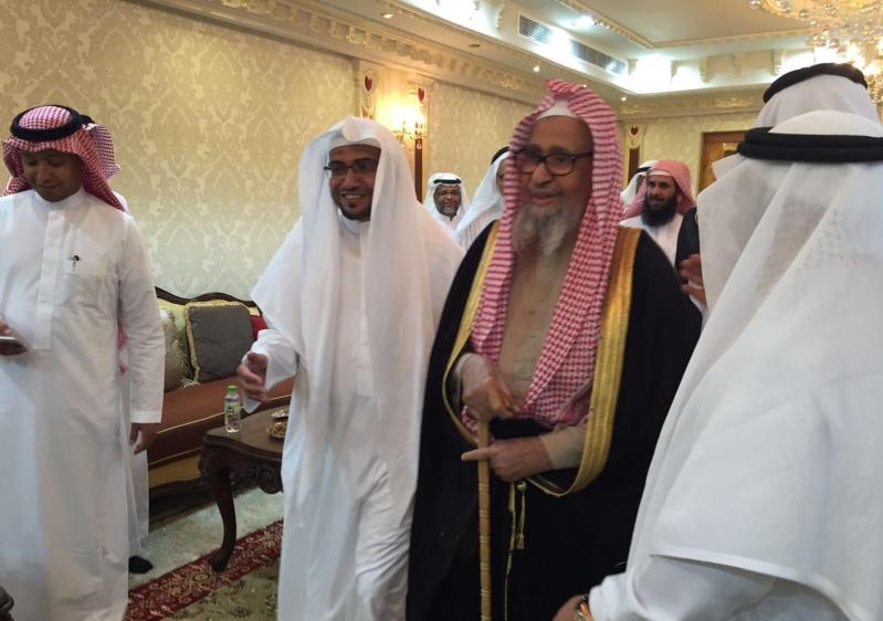 المغامسي يستقبل الشيخ صالح الفوزان (4)