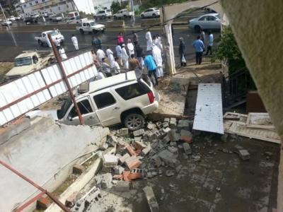 المفارجة بمنطقة الباحة وفاة رجل في حادث سيارة بعد سقوط الأمطار1