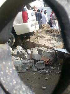 المفارجة بمنطقة الباحة وفاة رجل في حادث سيارة بعد سقوط الأمطار5
