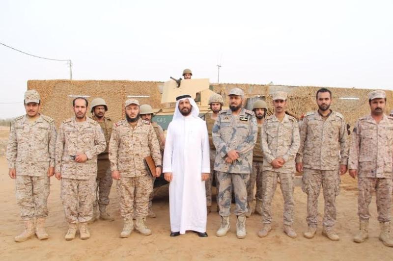 المقرن مع الجنود
