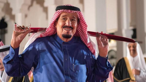 الملك الجولة الخليجية