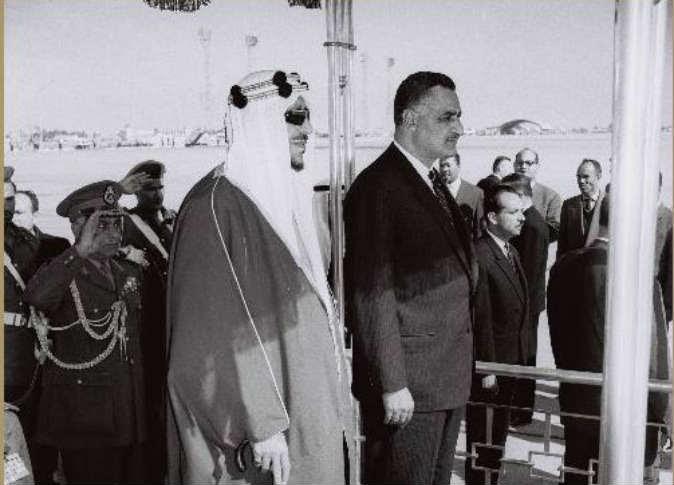 الملك سعودي في مصر 3