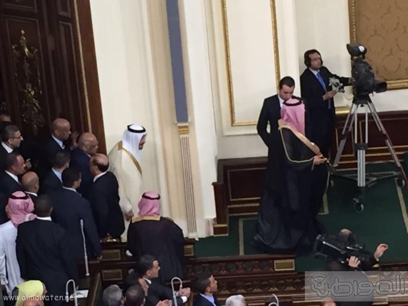 الملك سلمان اثناء البرلمان (130128560) 