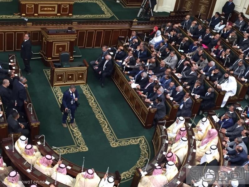 الملك سلمان اثناء البرلمان (130128561) 