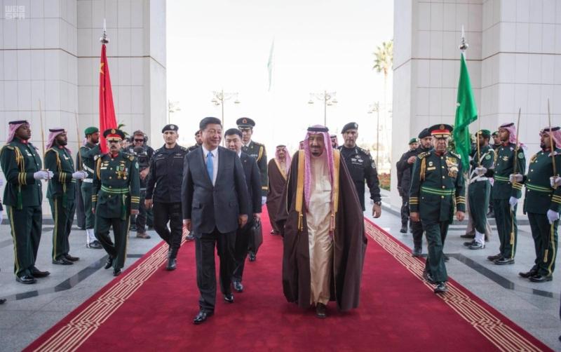 الملك سلمان الرئيس الصيني