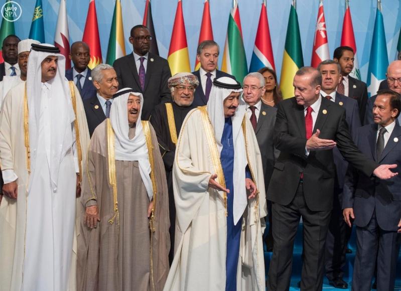 الملك سلمان بالقمة الاسلامية بتركيا (5)