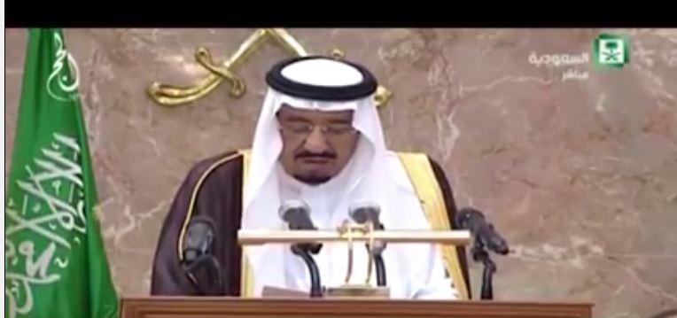 الملك سلمان حفل استقبال ضيوف الحج