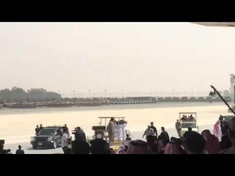 الملك سلمان عقب تفتيشه على القوات المشاركة في #رعد_الشمال