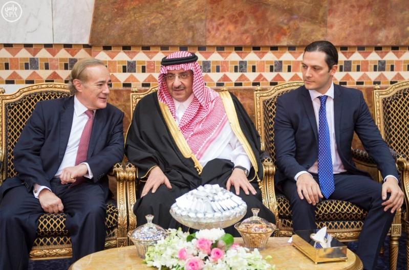 الملك سلمان مع خوان كارلوس ملك إسبانيا 4