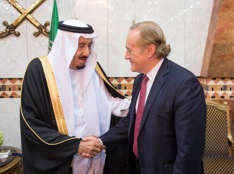 الملك سلمان مع خوان كارلوس ملك إسبانيا 5