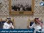 الملك سلمان مع محمد بن زايد