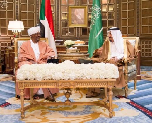 الملك-سلمان-والرئيس-السوداني